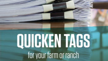 Quicken tags graphic.
